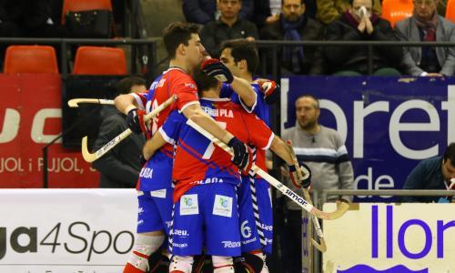 L'Igualada Rigat HC va donar la primera sorpresa de la Copa del Rei dijous al vespre a l'eliminar al CE Noia Freixenet (FOTO: Luis Velasco, RFEP)